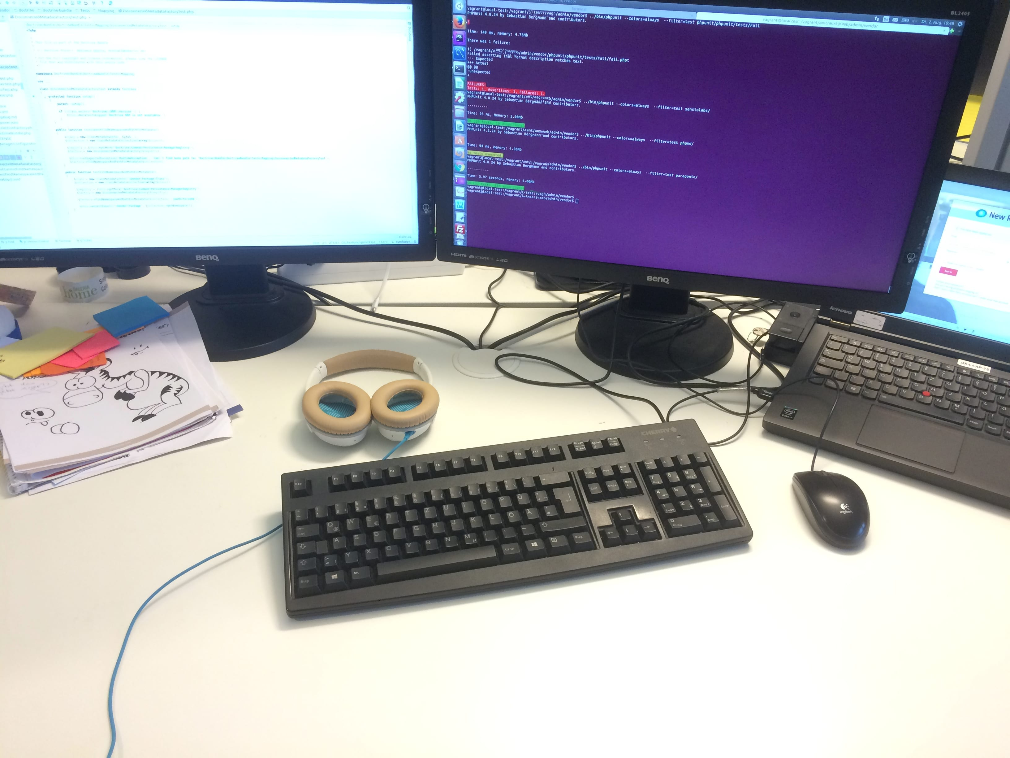 desk: test driven code review