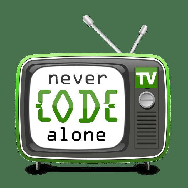 Never Code Alone TV Logo