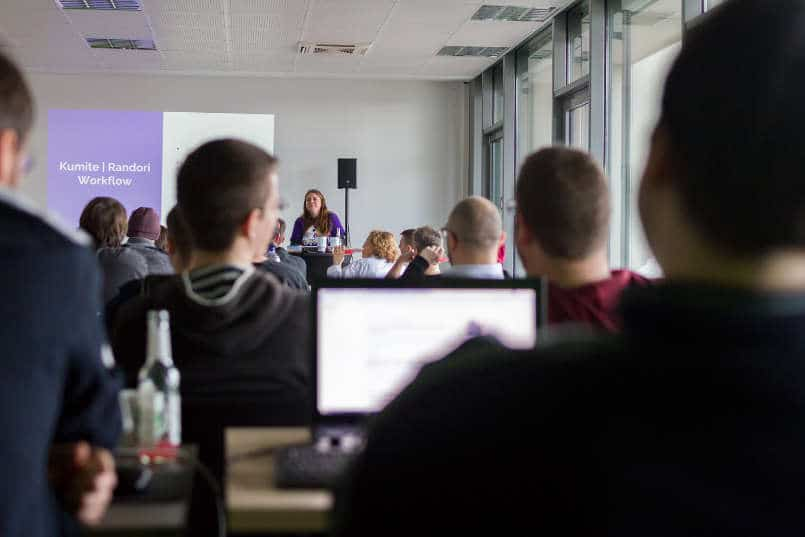 denkwerk Never Code Alone Event