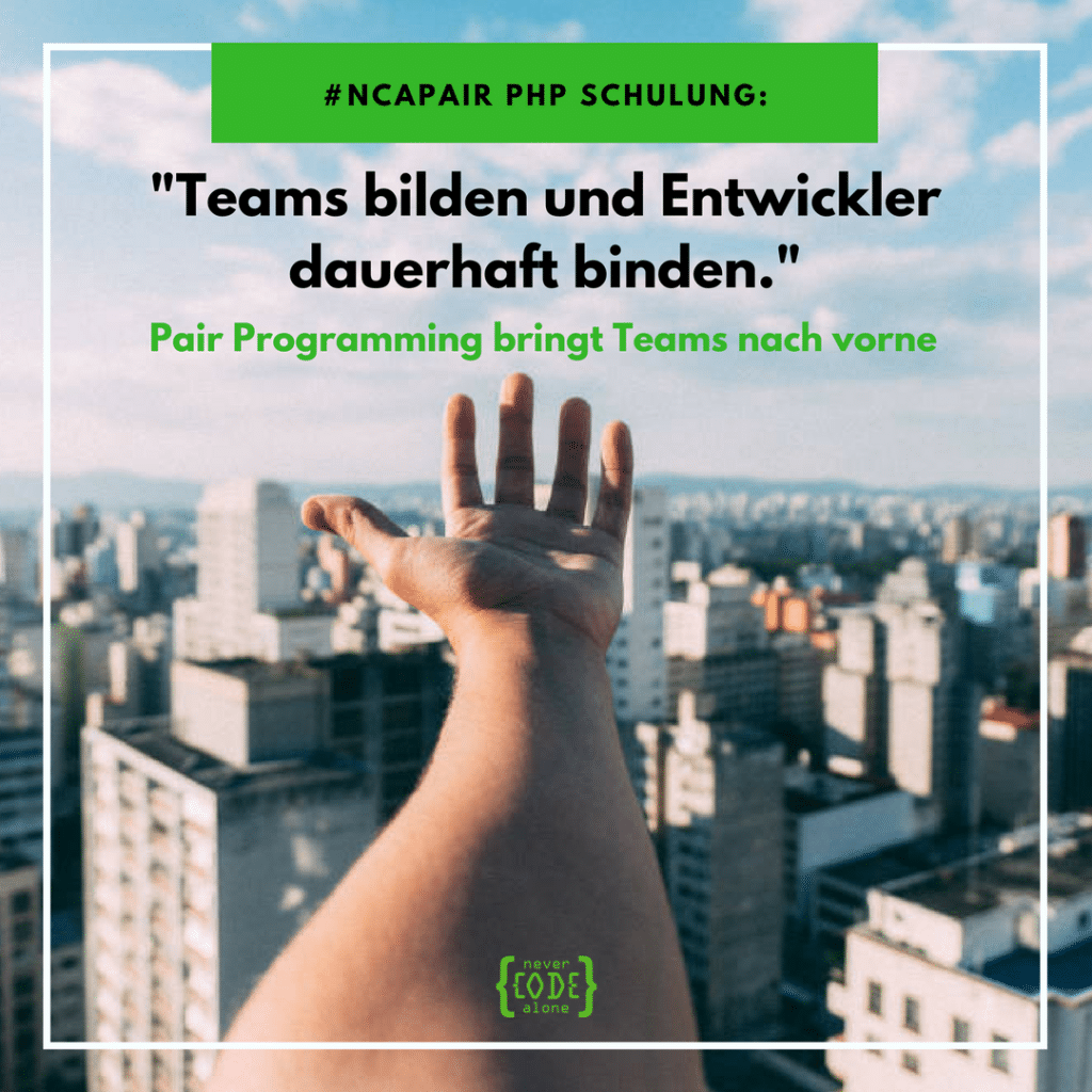 NCAPair PHP Schulung Webdevelopment Jobs