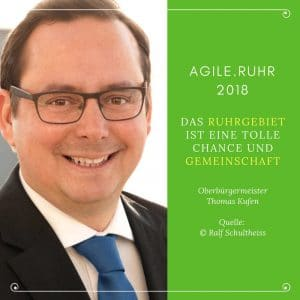 Oberbürgermeister Thomas Kufen Agile.Ruhr © Ralf Schultheiss