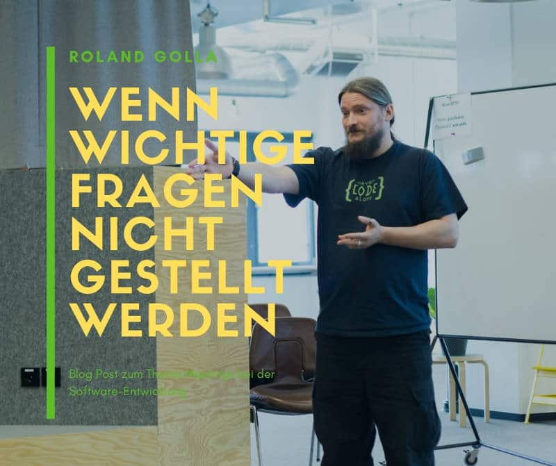 Roland Golla Meetings und wichtige Fragen