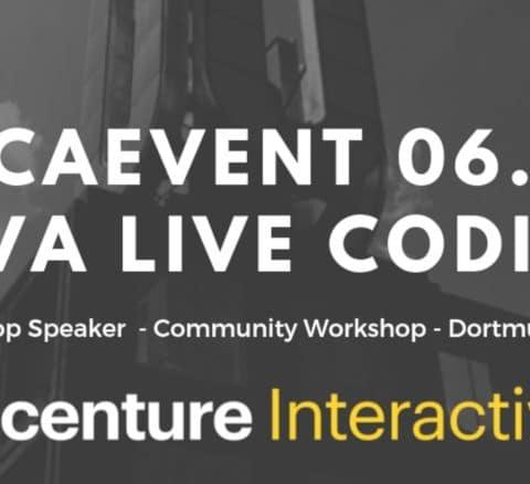 Accenture Interactive macht den Auftakt der #NCAEvents 2019 – Der Pott codet am 6. April Java in Dortmund
