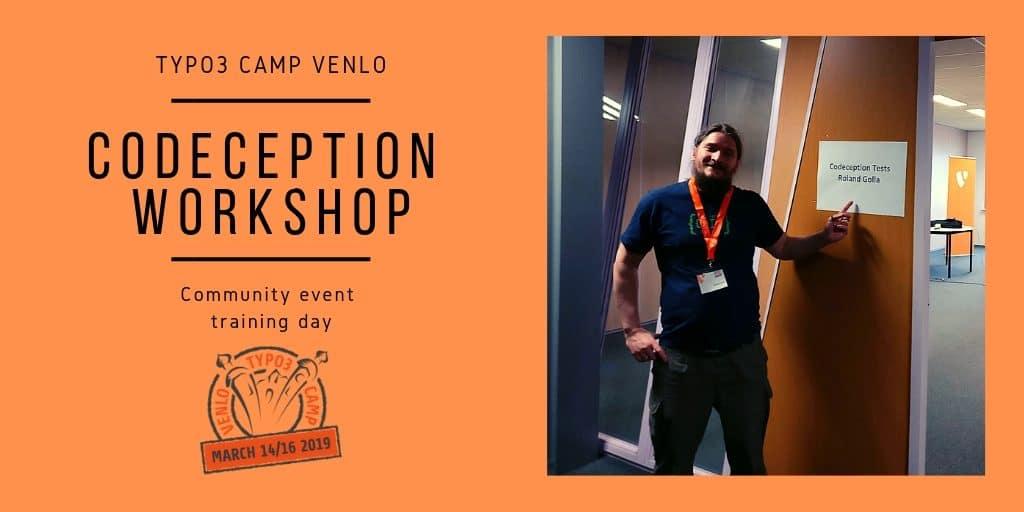TYPO3 Camp Venlo Codeception Workshop