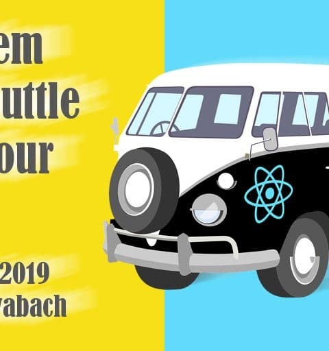 Shuttleservice für Javascript Event – Never Drive Alone