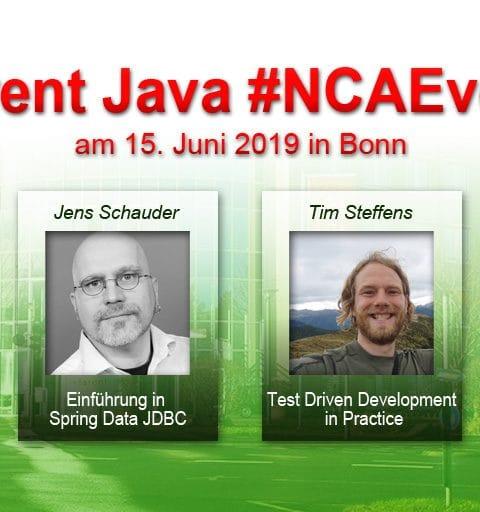 Java bei tarent – Urlaub für den Kopf und neue Energie fürs gute Coden Der Java-#NCAEvent bei tarent solutions in Bonn