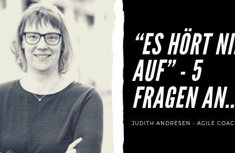 Agil im Team – Fünf Fragen an Judith Andresen – Arbeitsschutz in der IT