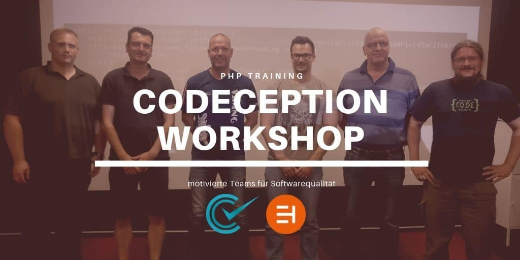 Codeception Workshop als PHP Team Training