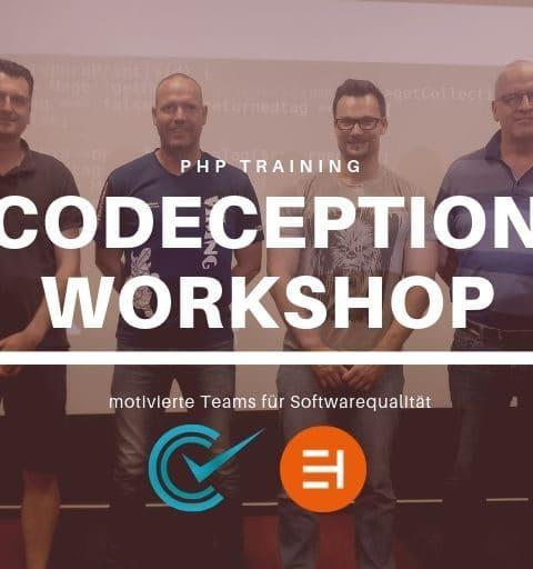 Automatisches Testing – Codeception Workshop bei der RHEINPFALZ