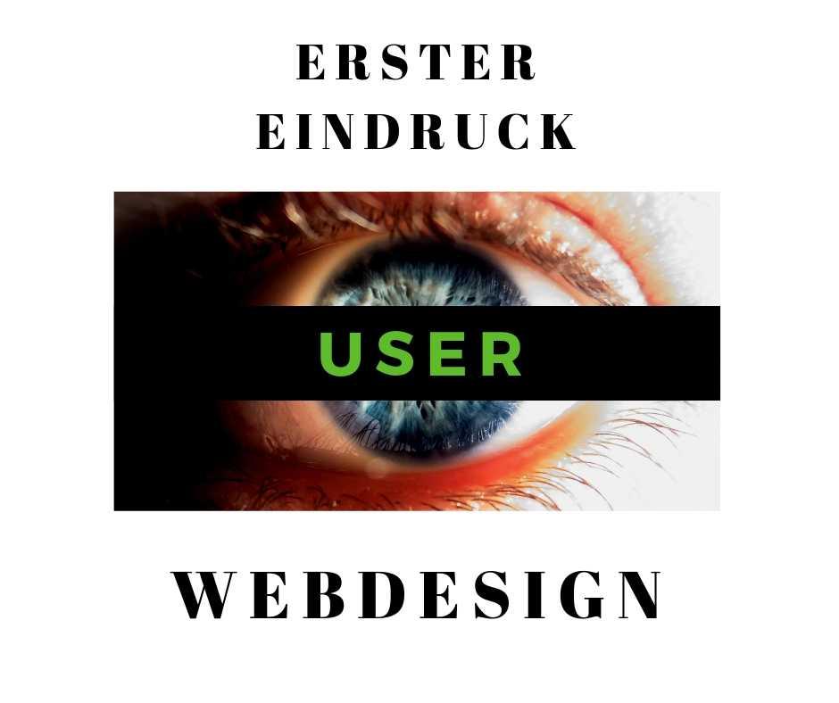 Webdesign Erster Eindruck