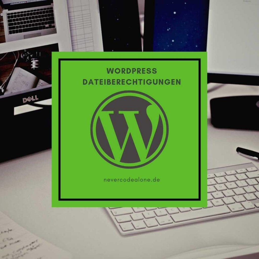 Wordpress Dateiberechtigungen 775 664 für Ordner und Files