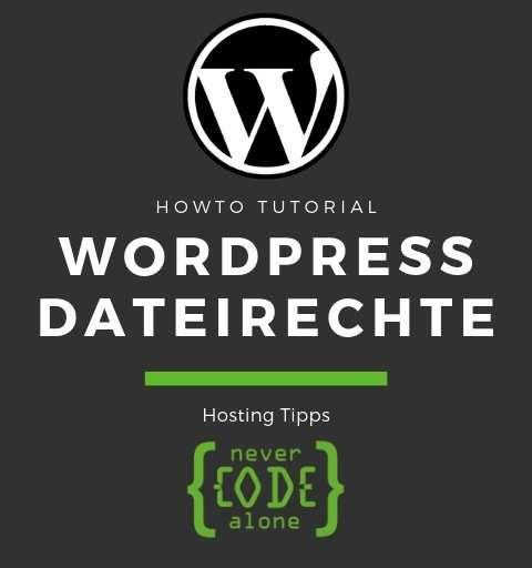 WordPress Dateiberechtigungen und Ordner Rechte