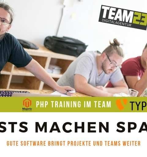 TEAM23 setzt ab sofort auf Codeception und Frontend-Tests für Magento E-Commerce und TYPO3-CMS-Projekte