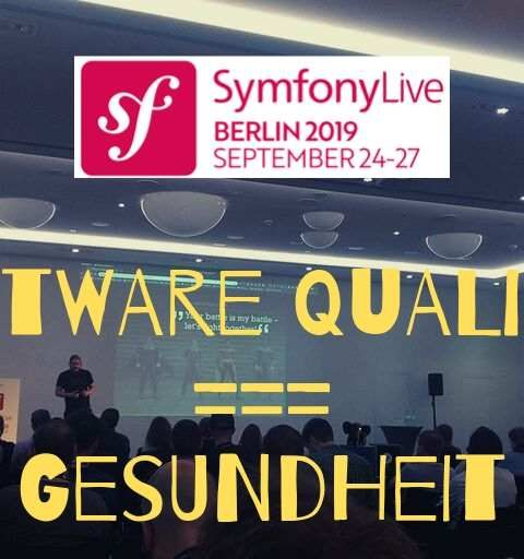 Review Symfony Live 2019 – Improvisations Talk ohne Bullet Points