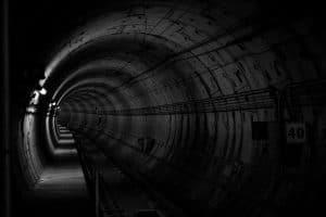 Tunnel von innen