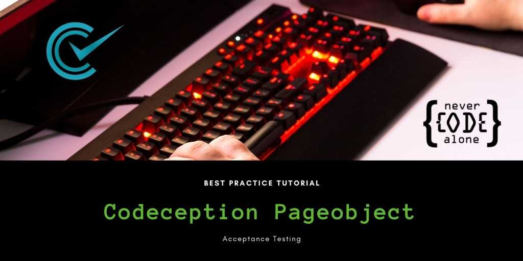 Codeception Tutorial Best Practice Pageobject