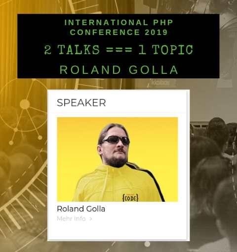 International PHP Conference 2019 – Starke Speaker & Starke Talks
