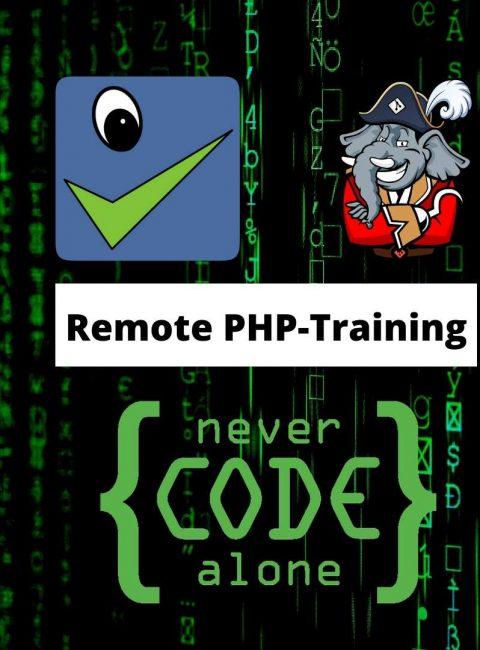 Remote PHP-Training für PHPStan und Captain Hook voller Erfolg – Kurs alle zwei Monate geplant