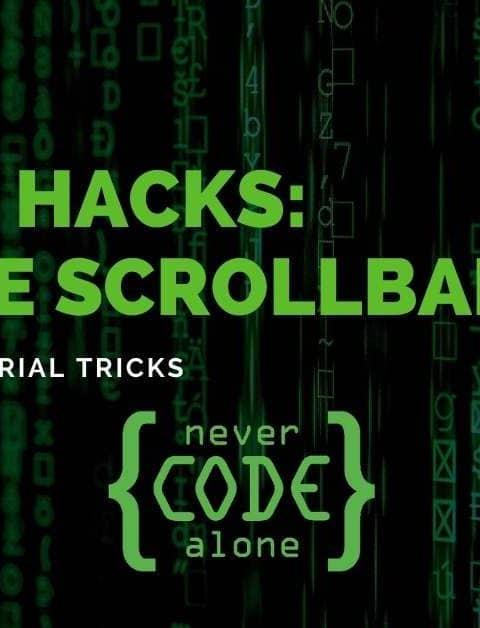 CSS Hacks: Horizontale Scrollbar und vertikale Scrollbar im Element, Iframe oder der ganzen Seite ausblenden