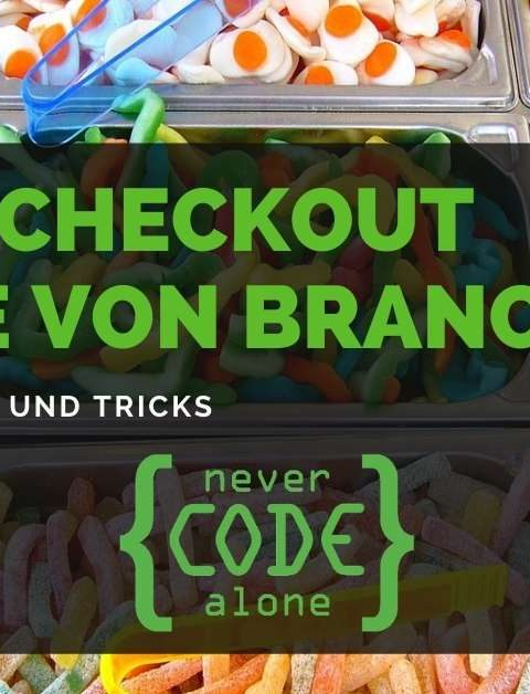 Git Checkout Files von anderem Branch