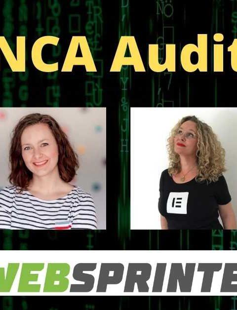 NCA Audit aus YouTube Live Serie – wir sprechen über professionelles Webdesign